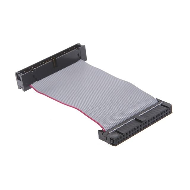גמיש שטוח כבל דיסק קשיח כונן 40Pin זכר IDE נקבה הארכת כבלים