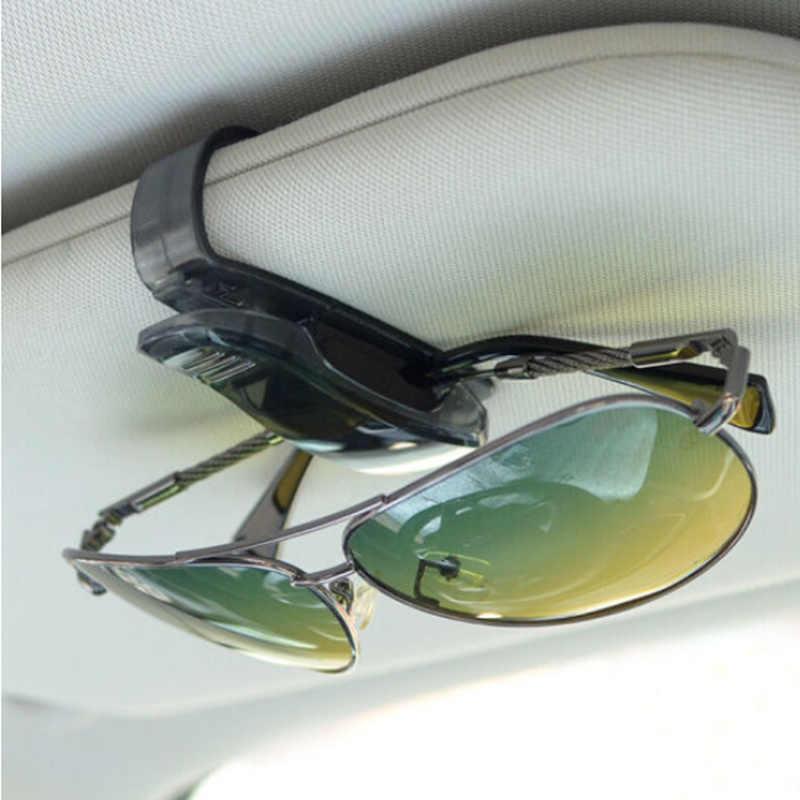 Voiture Auto Pare-Soleil Lunettes Lunettes De Soleil Clip pour Peugeot 206 207 301 307 308 407 408 508 2008 3008 4008 tesla modèle 3