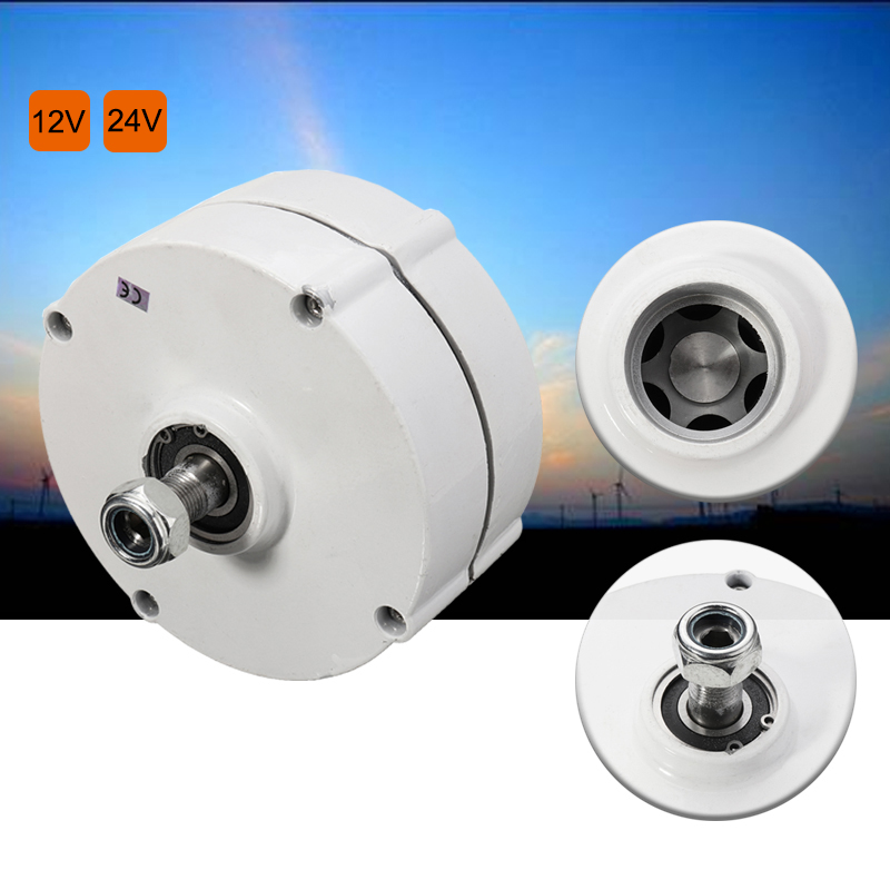 200W 12 V 24 Volt 3 Phase PMSG Brushless Electric Wind Power Generator Permanent Magnet Generator Alternator Motor DIY 600R/Min bt151 bt151 600r to 220