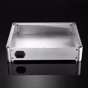 Image 3 - Nobsound caixa amplificadora em pré amplificador, estojo de fone de ouvido, dac diy, gabinete de alumínio, prata
