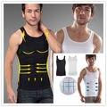 Homens Magro Elevador Do Corpo Shaper Belly Fatty Underwear Vest Corset Compressão BUSTER