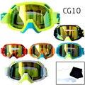 Velocidade Lobo 100% Motocross Gafas Revo óculos de Proteção Da Motocicleta Óculos + rasgue filmes CG10
