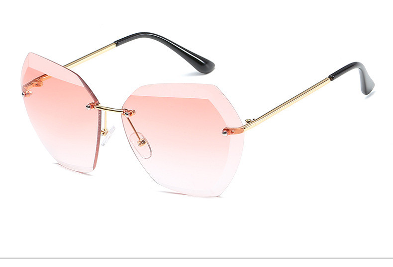 HTB1XGAQfCfD8KJjSszhq6zIJFXar - Luxury Vintage Rimless Sunglasses Women Brand Designer Oversized Retro Female Sunglass Sun Glasses For Women Lady Sunglass 2018