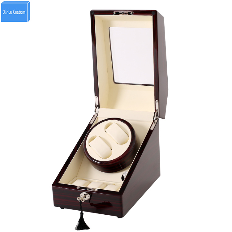 Wood leather atch winders for automatic watches winder box lock rotator 2+3 grids motor storage boxes winder uhrenbeweger caja wood leather atch winders for automatic watches winder box lock rotator 2 3 grids motor storage boxes winder uhrenbeweger caja