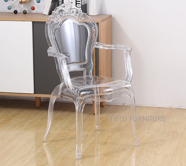 Modern Design Fashion Transpa Dining Chair Por Famous Clear Polycarbonate Loft Style