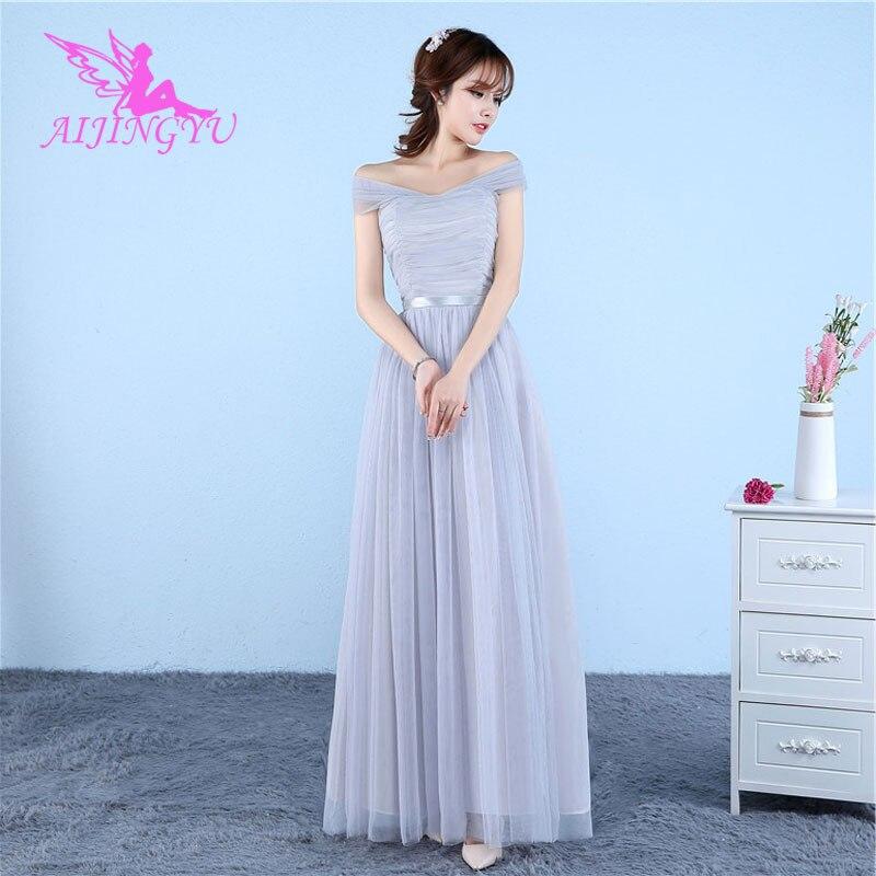 AIJINGYU 2018 fashion elegant   dress   women for wedding party   bridesmaid     dresses   BN776