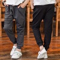 Boys Casual Pants Spring Autumn Long Pant Children Boy Kids Sprots Trouser Customes 6-14T