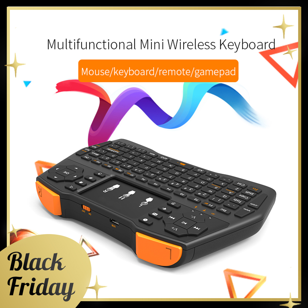 SIKAI Portable Mini Wireless Keyboard 2 4G Touchpad Fly Mouse Multimedia Handheld Air Mouse Remote Controller