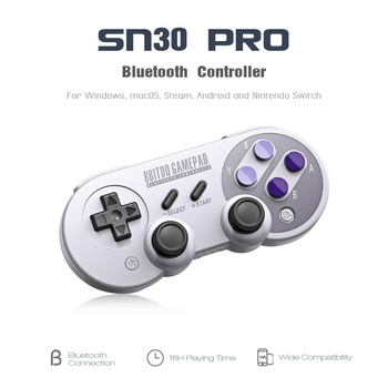 SF30Pro/SN30pro Wireless Bluetooth Game Controller with Joystick for Windows Android macOS Steam Nintendo Switch