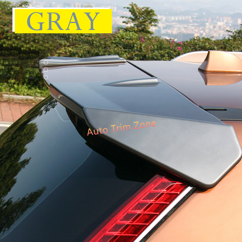 For Nissan Rogue X trail 2014 2017 2PCS ABS Rear Door Wing Spoiler Cover Trim 6