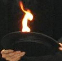 Dispositif d'allumage pour chapeau de feu-accessoire magique, illusions magiques de scène