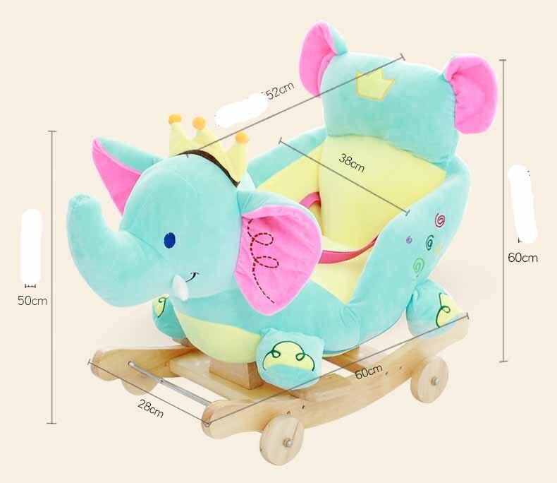 Детские качели, плюшевая игрушка лошадь, кресло качалка, детский батут, детское кресло качалка для улицы, детский бампер, детская игрушка качалка - 2