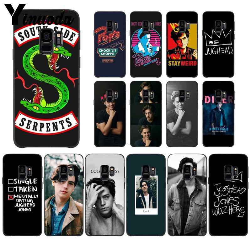 Yinuoda American TV Riverdale Southside Serpent Jughead Jones PhoneCase for Samsung Galaxy S7edge S6 edge plus S10 S8 S7 S9 Plus