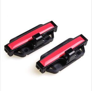 Image 2 - 2 sztuk klips do pasa bezpieczeństwa Seat podkładka pod pas klamra akcesoria samochodowe stoper bezpieczeństwa zaczep do paska regulator napięcia dla Auto 53mm