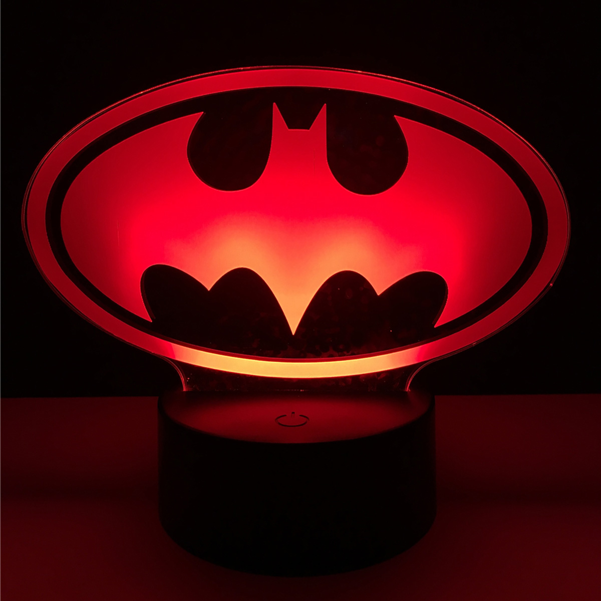 3D Bat Acrylic LED Lamp 3D Baby Night Light bedroom Sleeping Lighting birthday Gift For Children Night Light Xmas New Years
