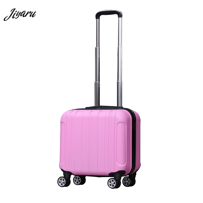 2019 New 18 Inch Rolling Luggage Travel Suitcase Woman Rolling Suitcase for Girl Students Trolley Case Unisex Travel Bags