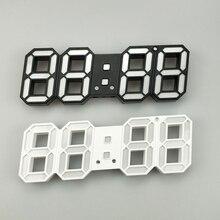 3D LED Wall Clock Modern Design Digital Table For Home Living Room Decoration