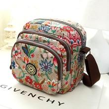The new Fashion Women Shoulder Bag Canvas Oxford  Handbag High Quality Leisure Female Messenger Bags Multilayer Shoulder Bag