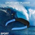 8 GB Reproductor de Música Banda Para El Cuello Deportes Bajo El Agua Natación Buceo IPX8 Impermeable MP3 con FM Radio de Auriculares Estéreo de Audio Para Auriculares