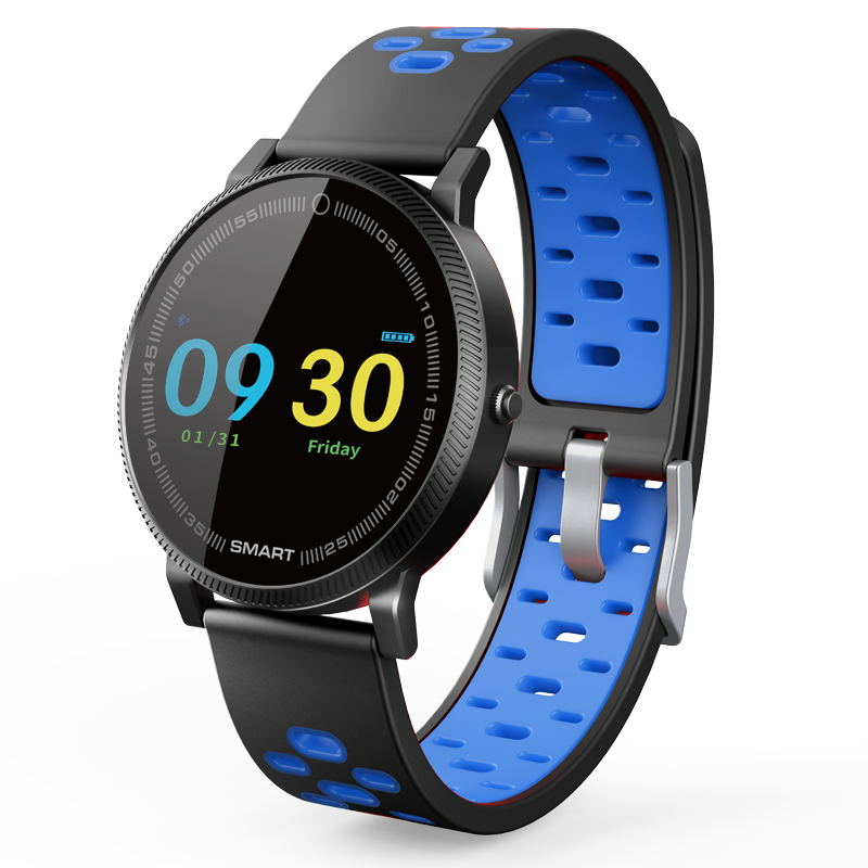 MOCRUX F4 Color Touch Screen Smartwatch Smart Sport Fitness Watch Men Women Heart rate monitor Wearable Devices for IOS Android