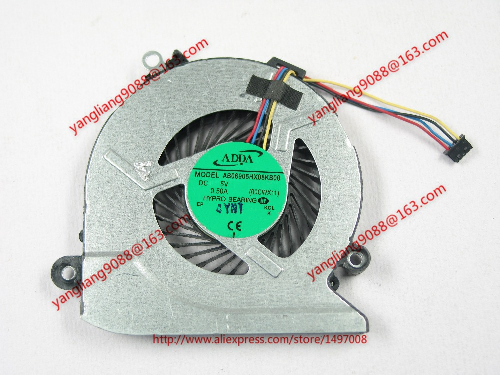 ADDA new  AB06905HX08KB00, 00CWX11 DC 5V 0.50A  4-wire 4-pin connector 70mm Server Laptop Cooling fan aputure ls c300d cri 95 tlci 96 48000 lux 0 5m color temperature 5500k for filmmakers 2 4g remote aputure light dome mini