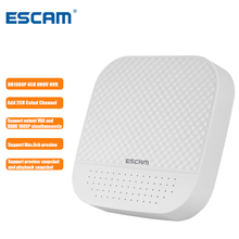 ESCAM PVR204 1080P 4+2CH/8+2CH ONVIF MINI NVR With 2CH Cloud Channel For IP Camera System Support Output VGA and HDMI