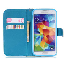 Leather Case Soft TPU Cover For Samsung Galaxy S5 SV i9600