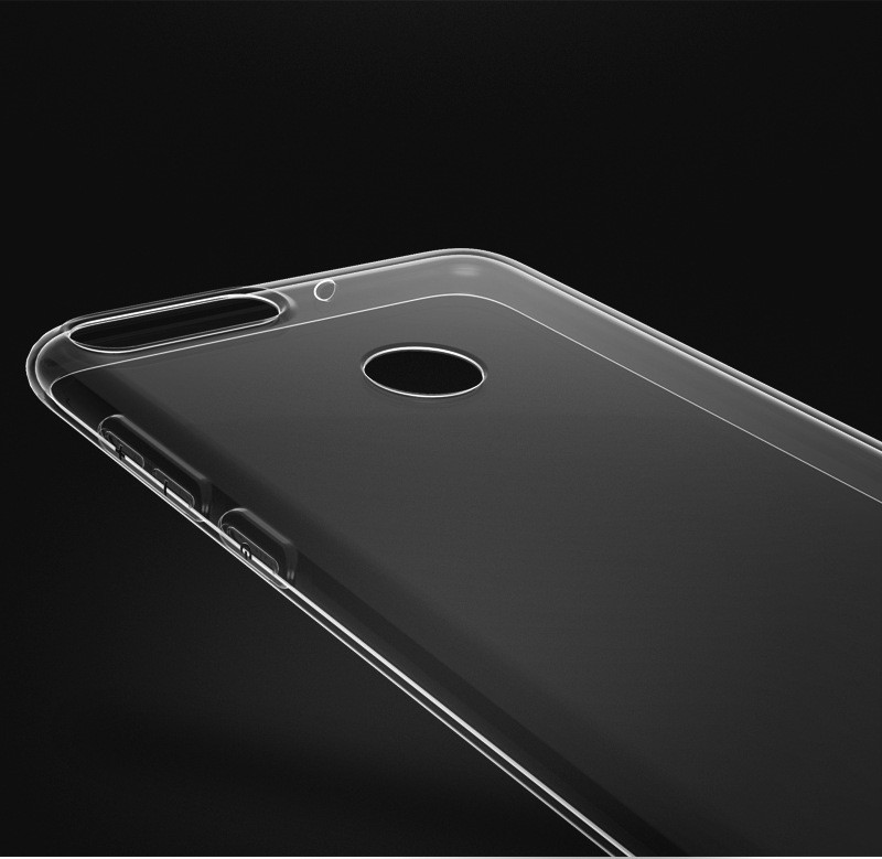 ultra thin transparent soft silicone tpu case for huawei honor 7a pro y9 2018 p smart 09