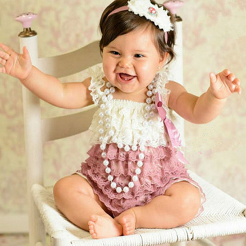 Aliexpress Com Buy Vintage Baby Lace Romper Newborn Cake