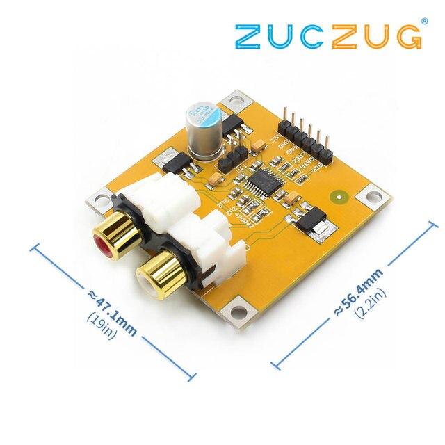PCM5102 ЦАП Декодер I2S плеер собран доска 32Bit 384 К к за ES9023 PCM1794 для Raspberry Pi