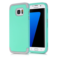 S7 Edge 3 In 1 Phone Cases For Samsung Galaxy S7 Edge Impact Hard Soft Silicone