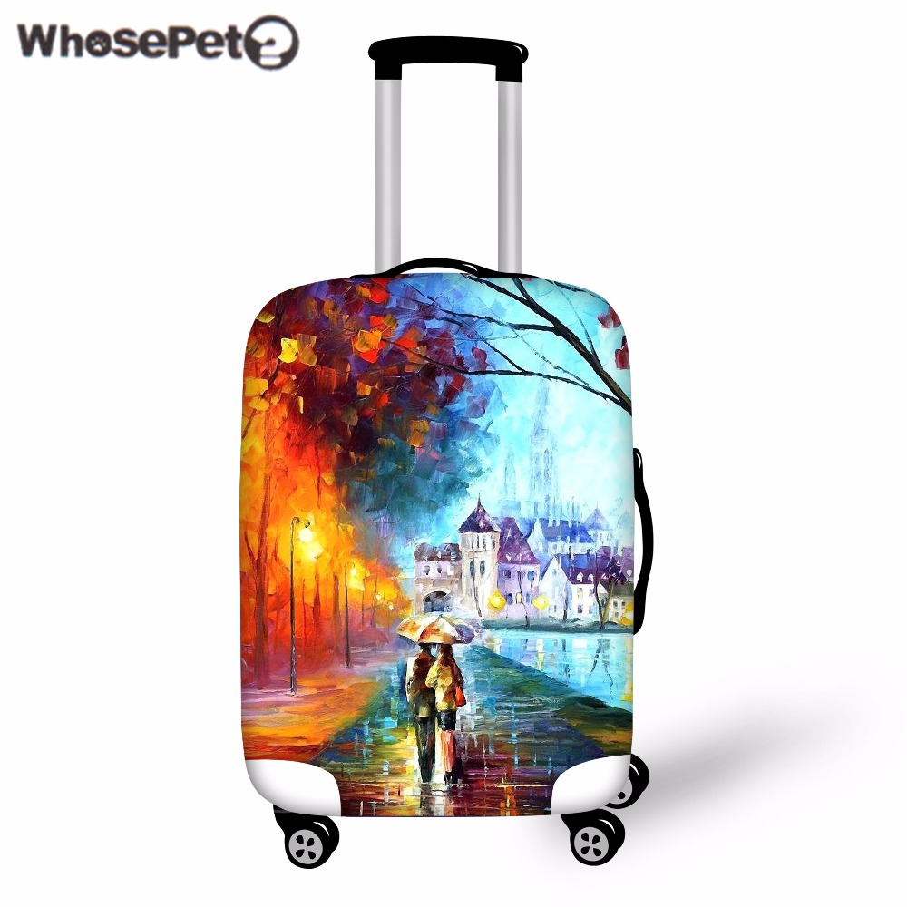 Elastic, Landscape, Cover, Luggage, Painting, Covers