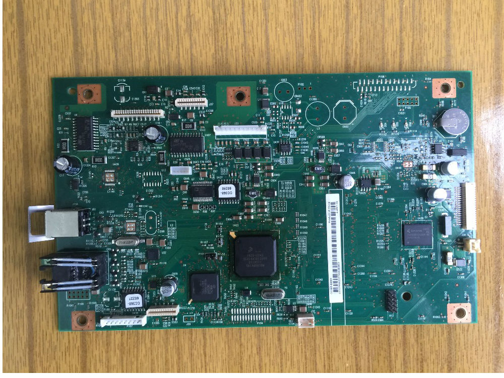 Free shipping 100% tested Formatter board for HP LJ 1522NF CC368-60001 mainboard WITH FAX BOARD formatter board for hp laserjet m1522nf m1522 1522 cc368 60001