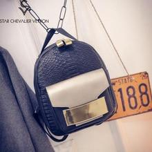2017 2 новые цвета Женщины Рюкзак Небольшой Размер Черный PU Кожи женщин Рюкзаки Школа Моды Девушки Сумки Женские Рюкзак