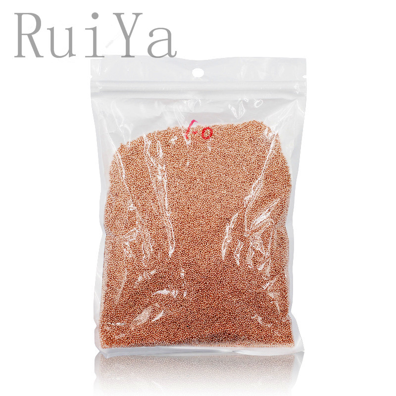 1KG Rose Gold Silver Nail Art Caviar Beads 3D DIY Mini Metal Round studs charm Nail Jewelry Decoration Manicure Tools Wholesale 1 5mm 2mm 3mm gold silver hot fix flatback half round nail art rivet punk rock style for 3d nail art decoration