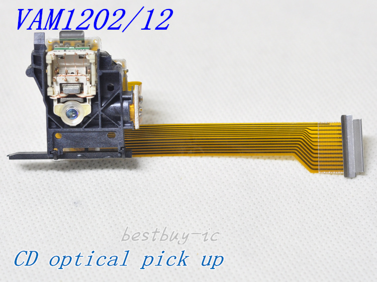 Para reproductor de CD recogida óptica VAM1202 tubo redondo VAM1202/12/VAM12.1 lente láser
