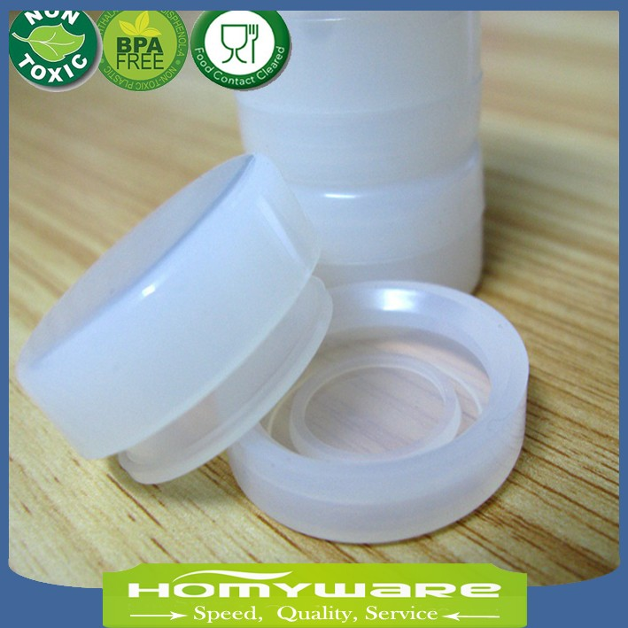 KITNEWER 5ml Air Tight Odorless Medical Silicone Jar Herb Stash Container  Oil Container Silicone Jars Dab