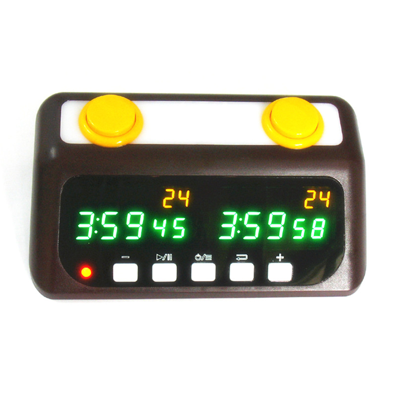 Professional LED Digital Chess Clock Count Chess Timer Built in Rechargeable Lithium Battery Game Competition Clock
