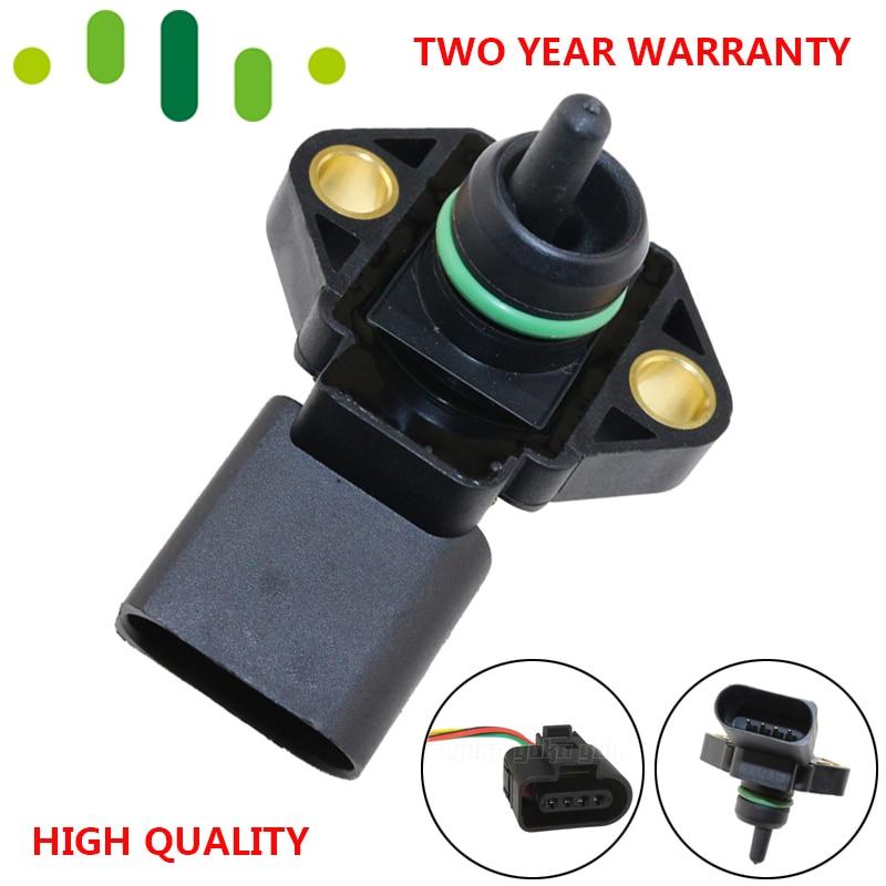 3 Bar Intake Air Manifold Turbo Boost Pressure MAP Sensor Sender For VW Bora 1J2 Golf IV 1J1 1.9 TDi 0 281 002 394 038 906 051A