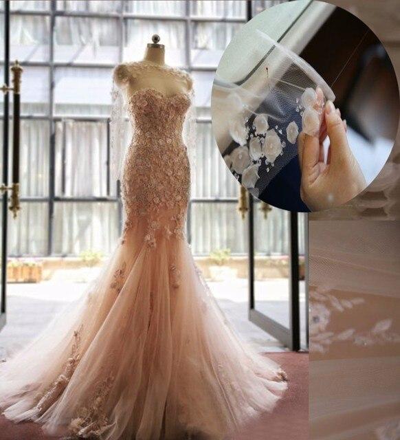 Heißer Verkauf Meerjungfrau Hochzeitskleid 2017 Schatz Applique ...