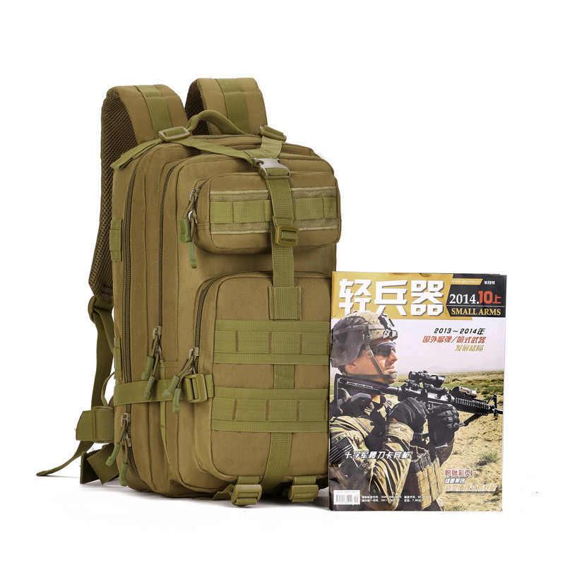 Новый 40L военный рюкзак Для Мужчин's MOLLE армейская рюкзак Водонепроницаемый нейлоновые дорожные сумки мужские рюкзаки для ноутбуков большой камуфляжная сумка