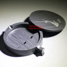Ink-Stone Calligraphy Grinding-Inkwell Chinese for Student with Cover