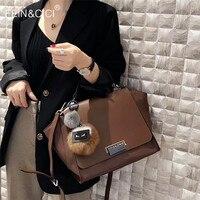 Large big capacity totes handbag 100% genuine leather women Smiley Bag Trapeze shoulder bag summer 2018 winter new luxury brand