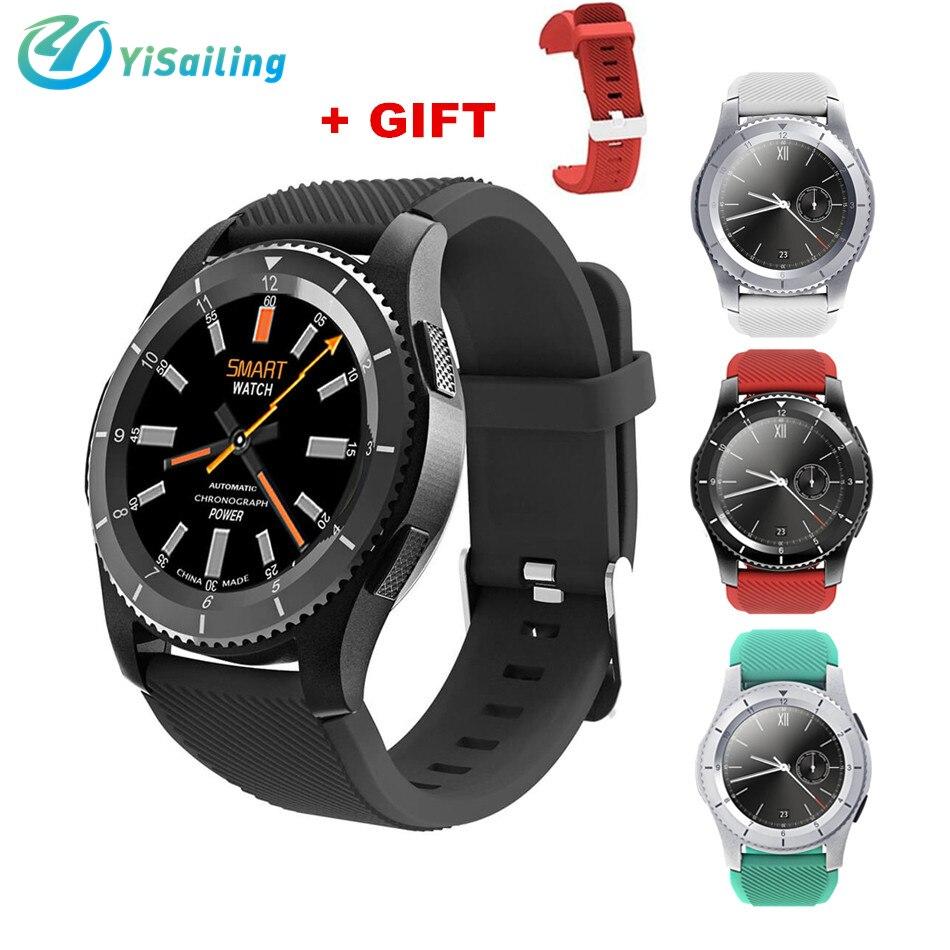 09e8e4b181b Yisailing G8 Inteligente telefone do relógio da Frequência Cardíaca Do  Bluetooth 4.0 SIM Card Chamada Lembrete Mensagem GS8 Smartwatch Para Android  IOS em ...