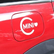 Pegatinas de coche Exterior calcomanías decoración pequeña para Mini Cooper One S JCW counterman Clubman F55 F56 R56 R60 F60 Coche accesorios