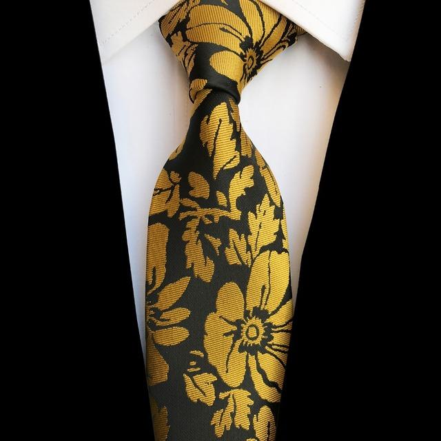 Nuevo diseño, corbata de seda Jacquard de 8cm