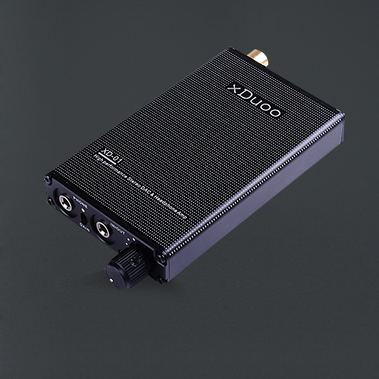 xDuoo XD-01 24Bit/192KHz MINI HIFI AUDIO DAC Portable Headphone Amplifier original xduoo xd 05 portable audio dac headphone amplifier hd iled display professional pc usb decoding amplifier