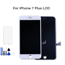 Black White AAAA LCD For Iphone 7p Display Touch Screen Digitizer Replacement Full Assembly for iPhone 7p  Lcd With 2Gifts for huawei ascend g6 white black replacement full lcd display touch screen glass digitizer assembly