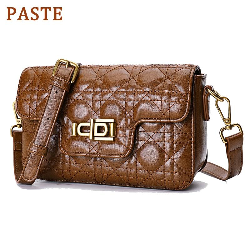 Flagge Luxus Handtaschen Brown black green Tasche Paste Designer Hohe Qualität Schulter red Frauen Echtem Taschen Leder Damen Umhängetasche Abend ZYdtdqw