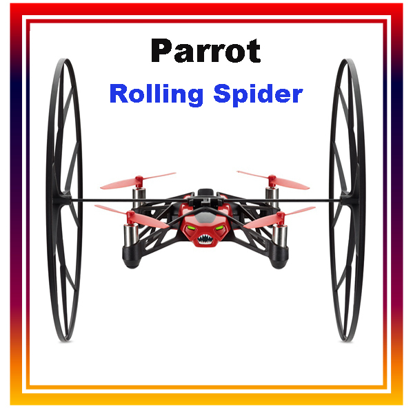 Dwi Dowellin Hot Sale Parrot Rolling Spider Mini Drone Car WIFI RC Quadcopter 4CH 6 Axis Gyro Controlled By iPhone/iPad Android parrot minidrones series rolling spider mambo swing quadcopter drone parts fast charger jumping race sumo car battery charger